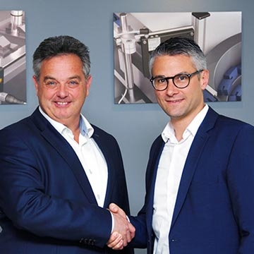 di-soric closer to its customers in Benelux