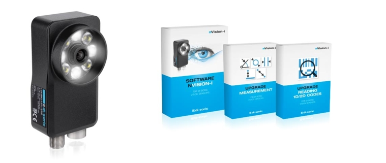 di-soric Vision Sensor CS-60 und Software mit Upgrades
