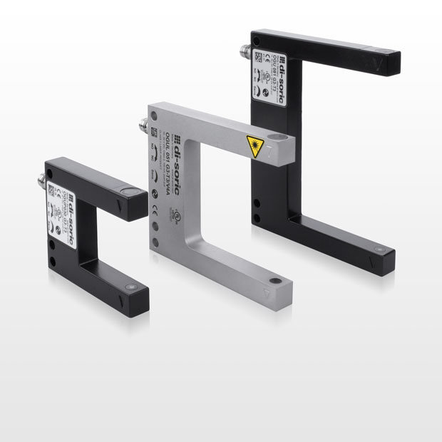 di-soric fork light barriers with IO-Link